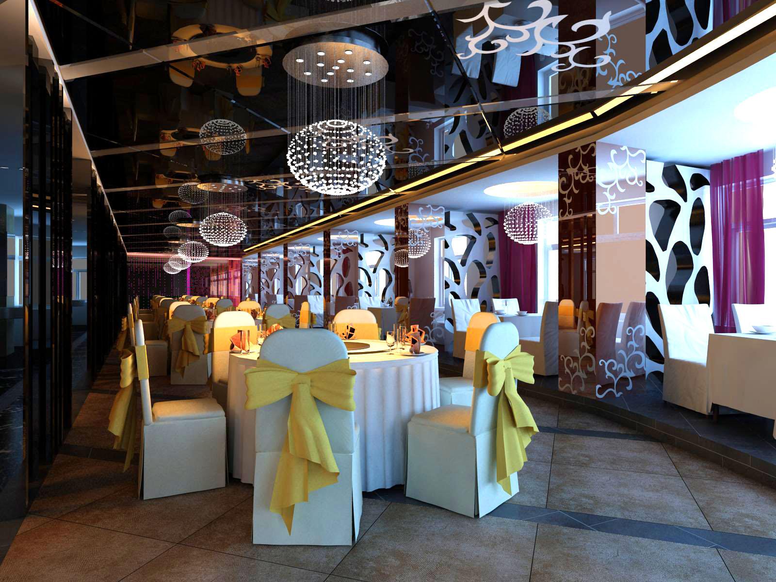 restaurant 071 3d model max 122173