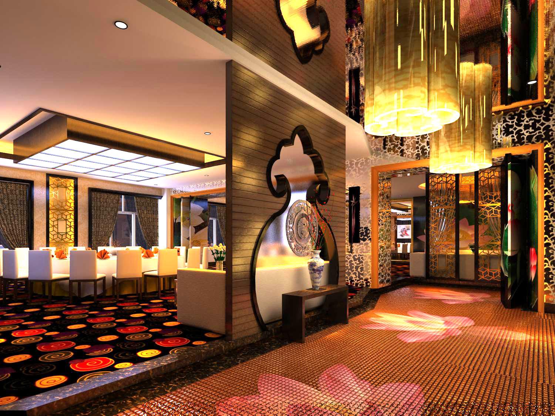 restaurant 072 3d model max 122175