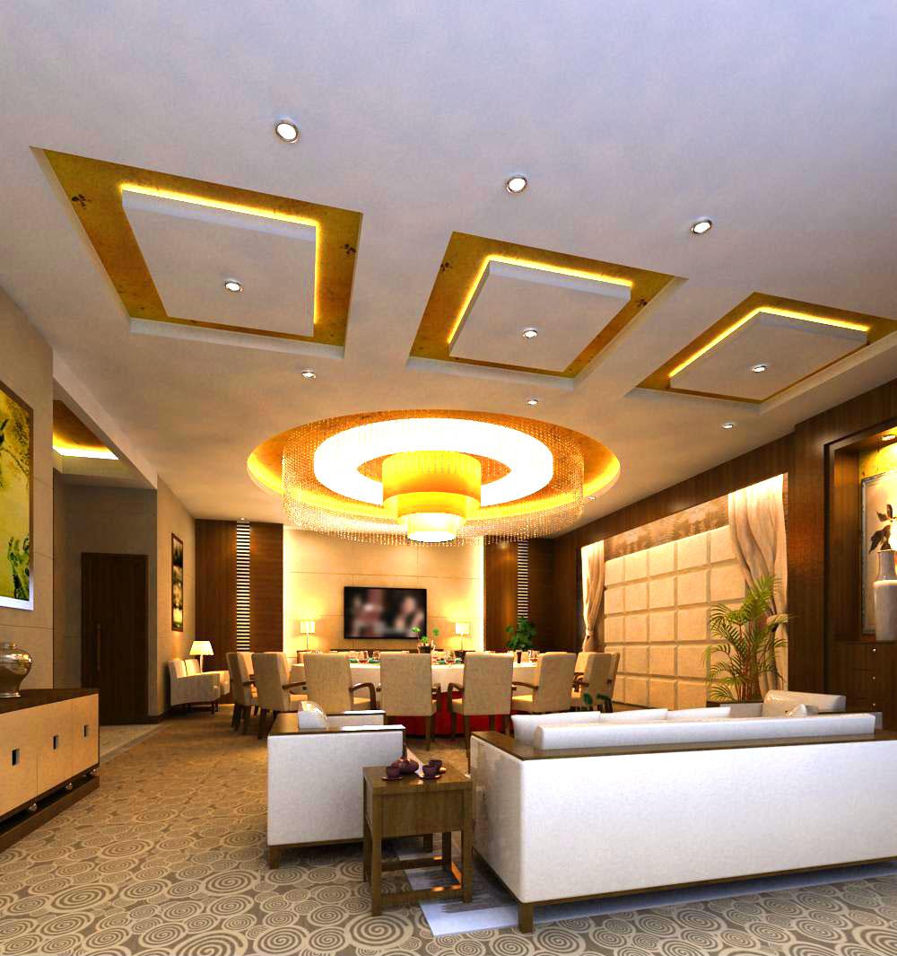 restaurant 074 3d model max 122177