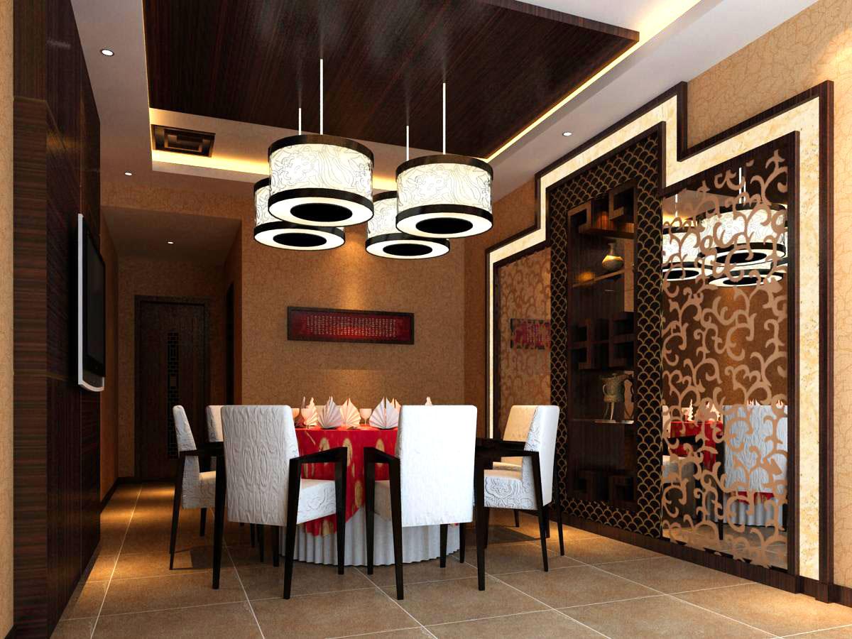 restaurant 075 3d model max 122179