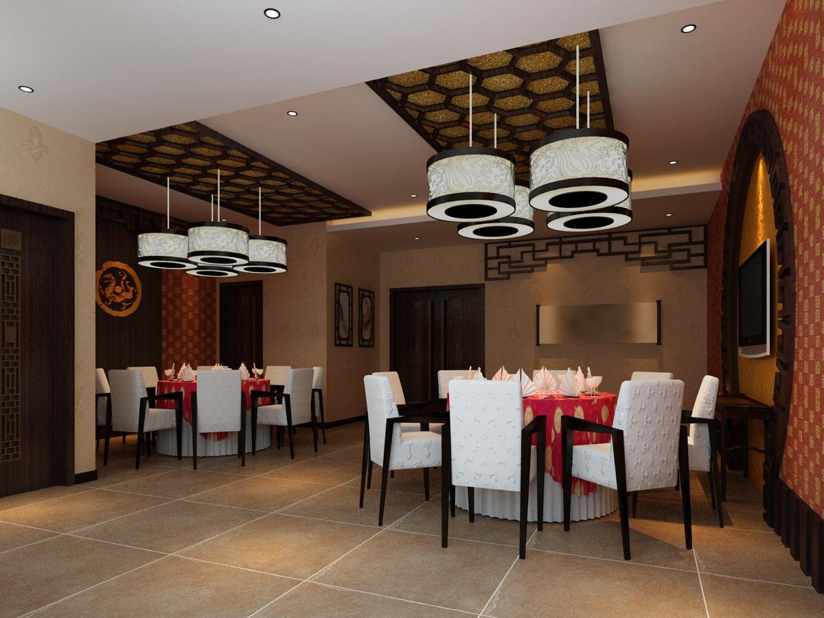 restaurant 076 3d model max 122181