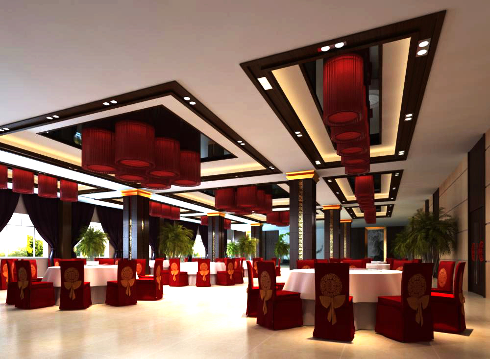 restaurant 076 two 3d model max 137741