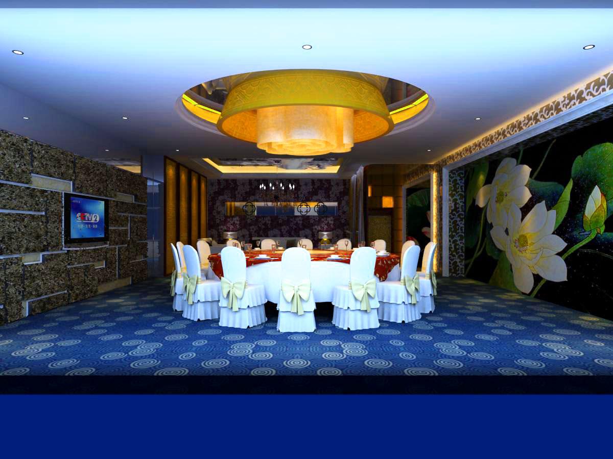 restaurant 077 3d model max 122183