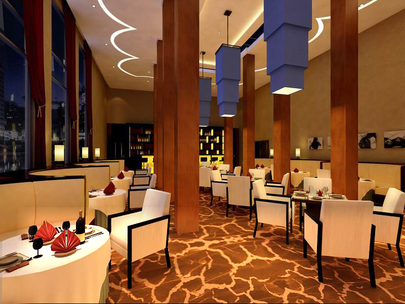 restaurant 078 3d model max 122185