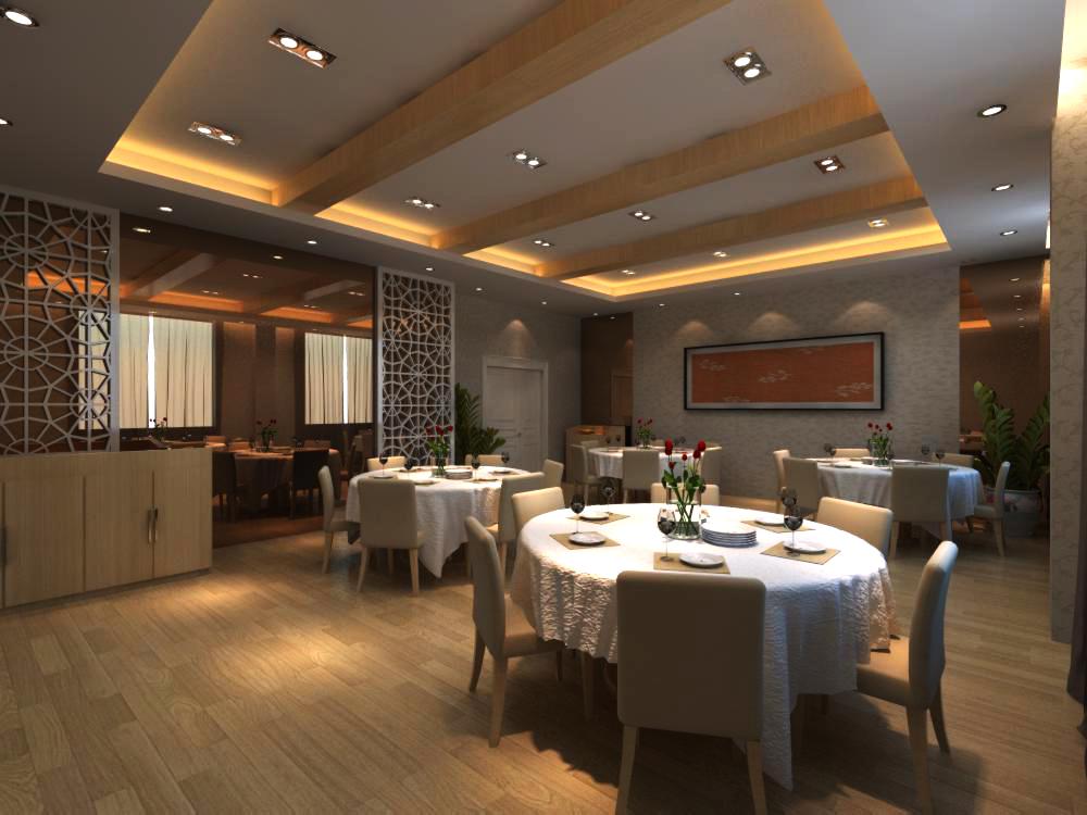 restaurant 081 3d model max 137751