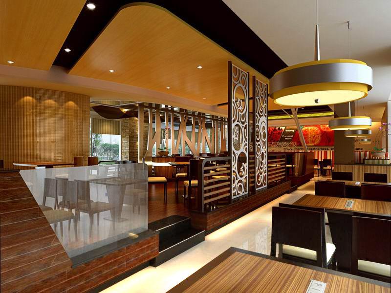 restaurant 086 3d model max 122197