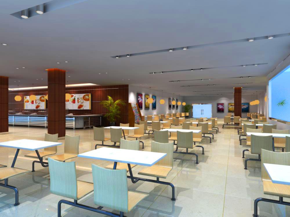 restaurant 086 two 3d model max 137761