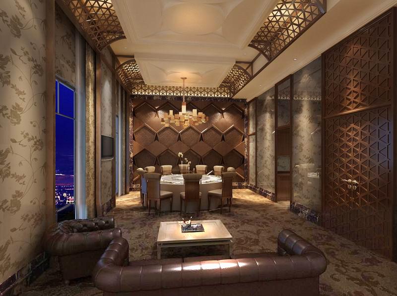 restaurant 088 3d model max 122204