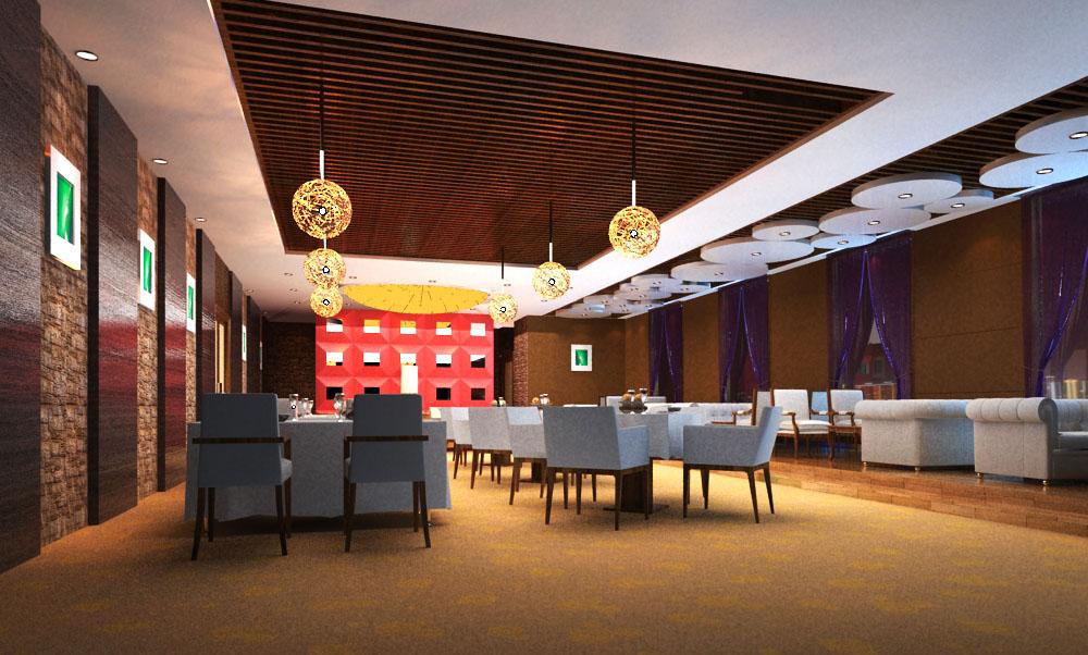 restaurant 091 3d model max 122207