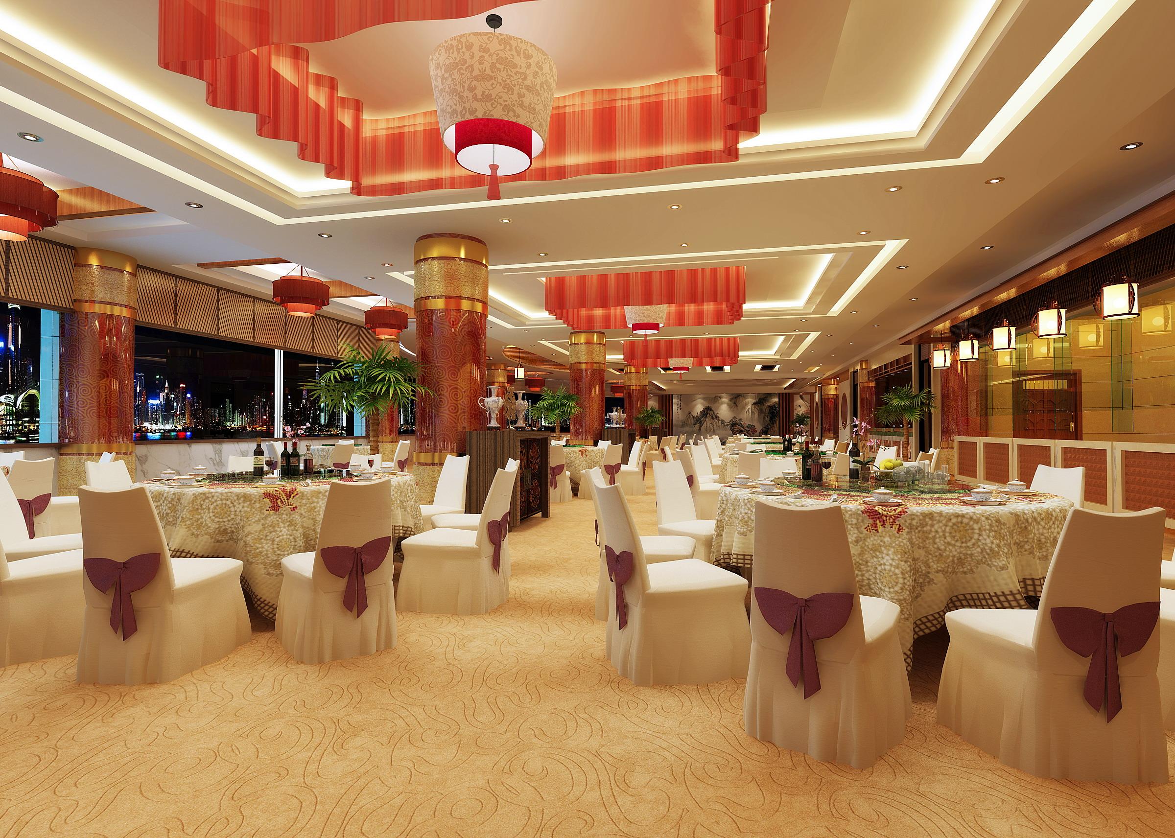 restaurant 092 two 3d model max 125337