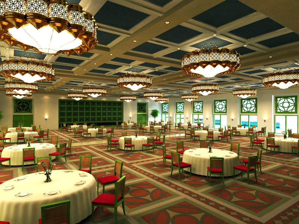 restaurant 0931 3d model max 122213
