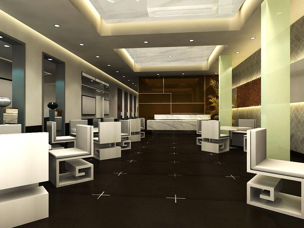 restaurant 096 3d model max 122215