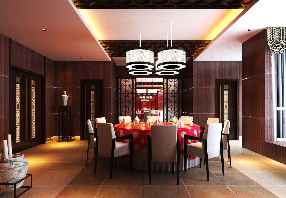 restaurant 097 3d model max 122217
