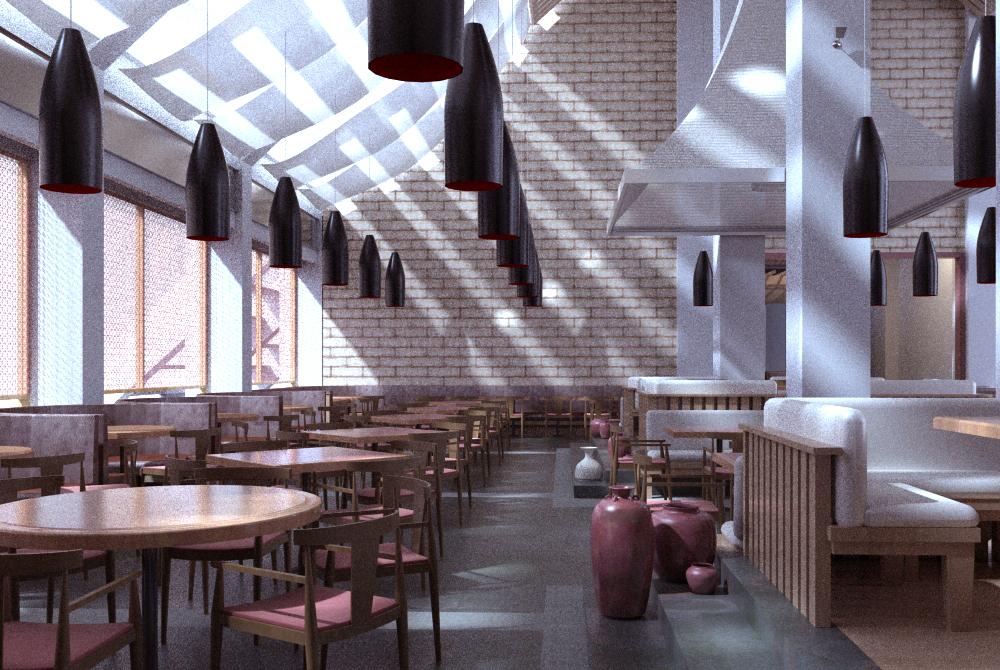 restaurant 099 3d model max 122221