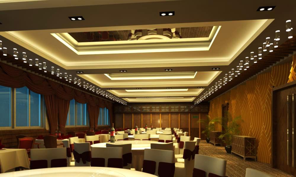 restaurant 101 3d model max 137788