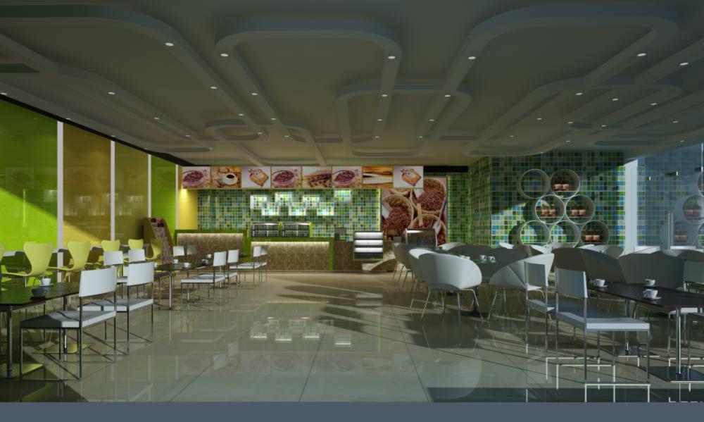 restaurant 102 3d model max 137790