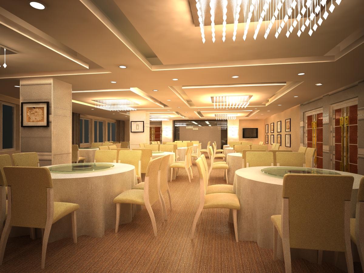 restaurant 108 3d model max 137802