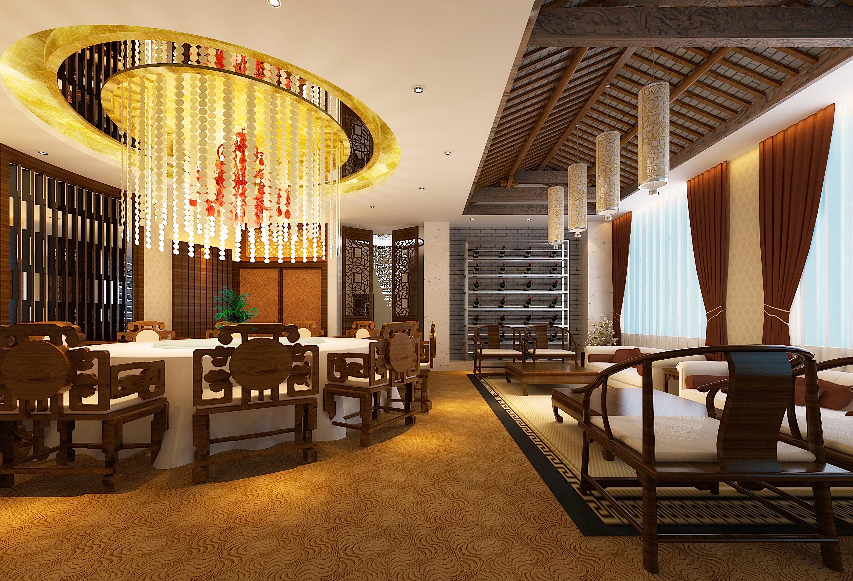 restaurant 110 3d model max 137806