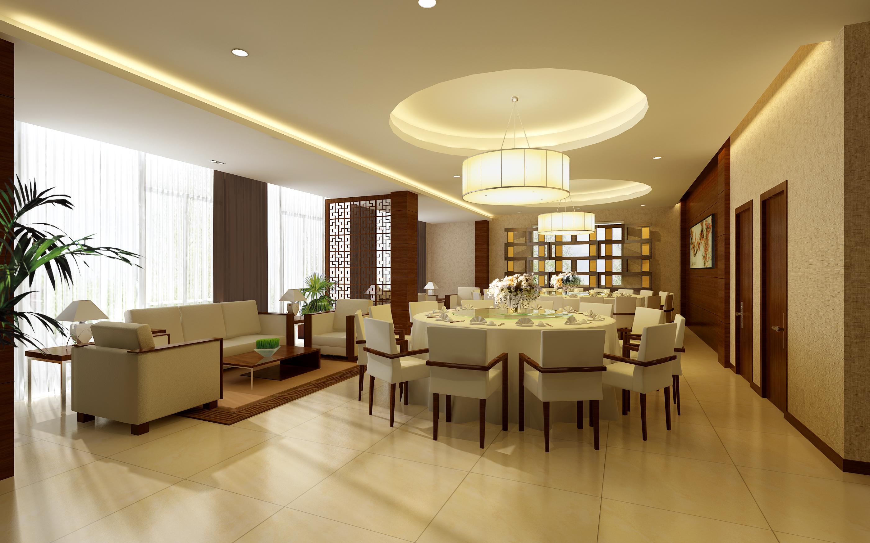 restaurant 113 3d model max 137812