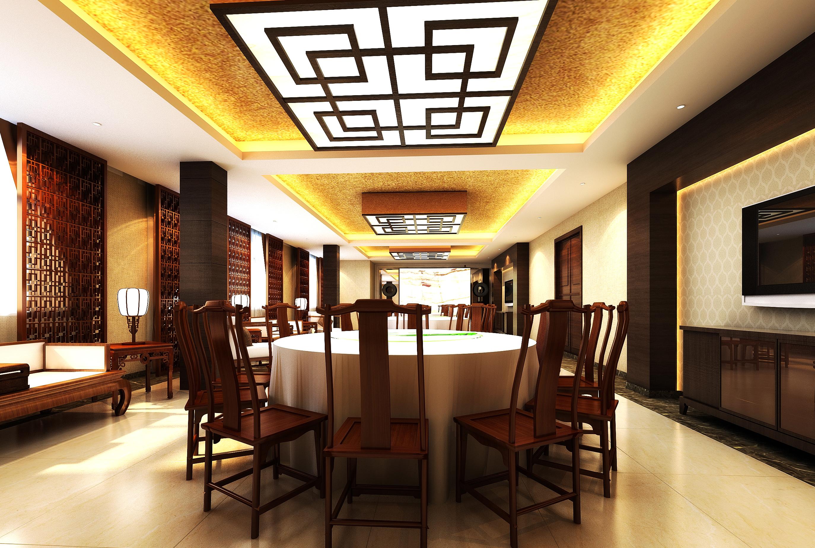 restaurant 114 3d model max 137814