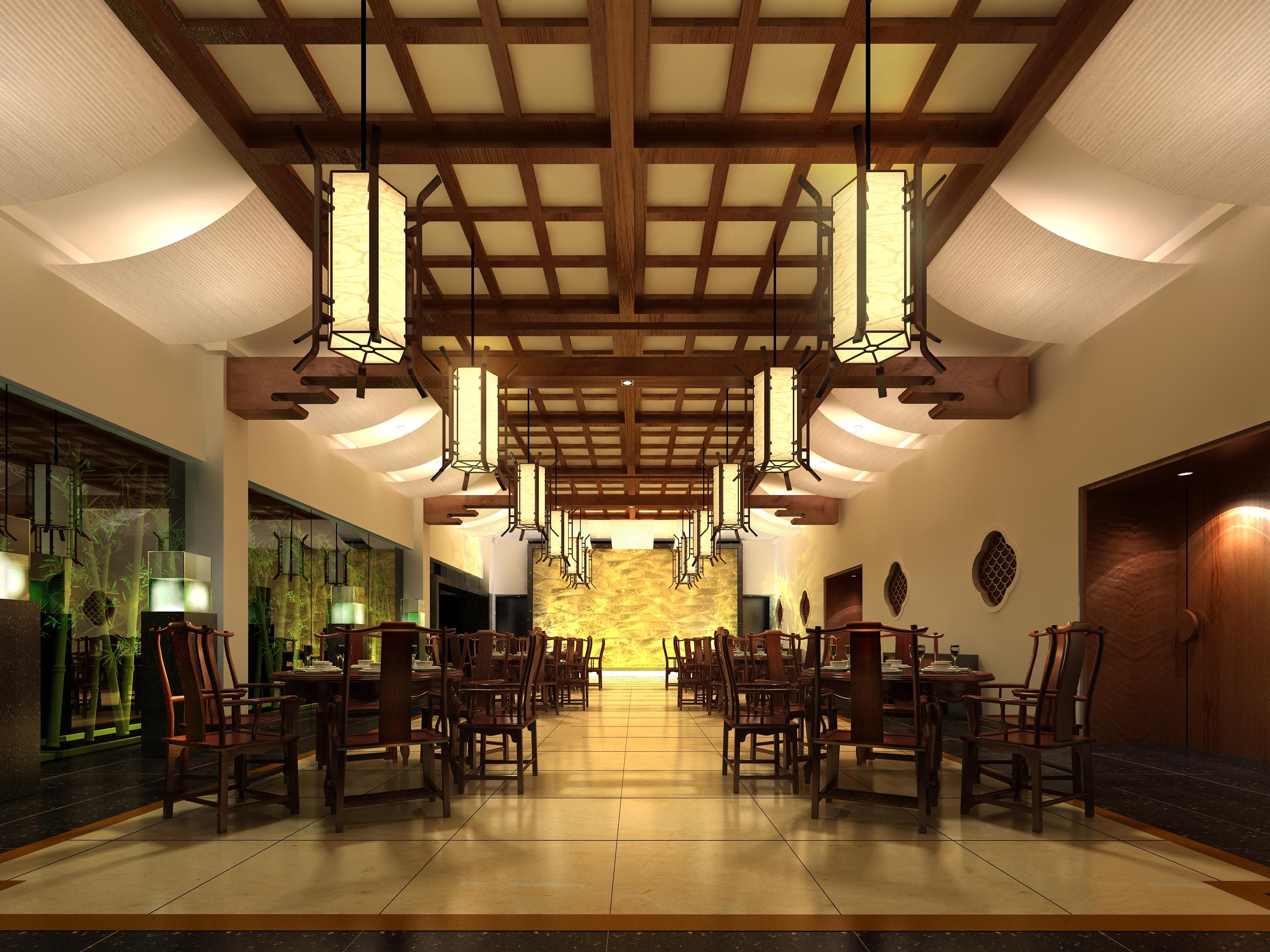 restaurant 116 3d model max 137818