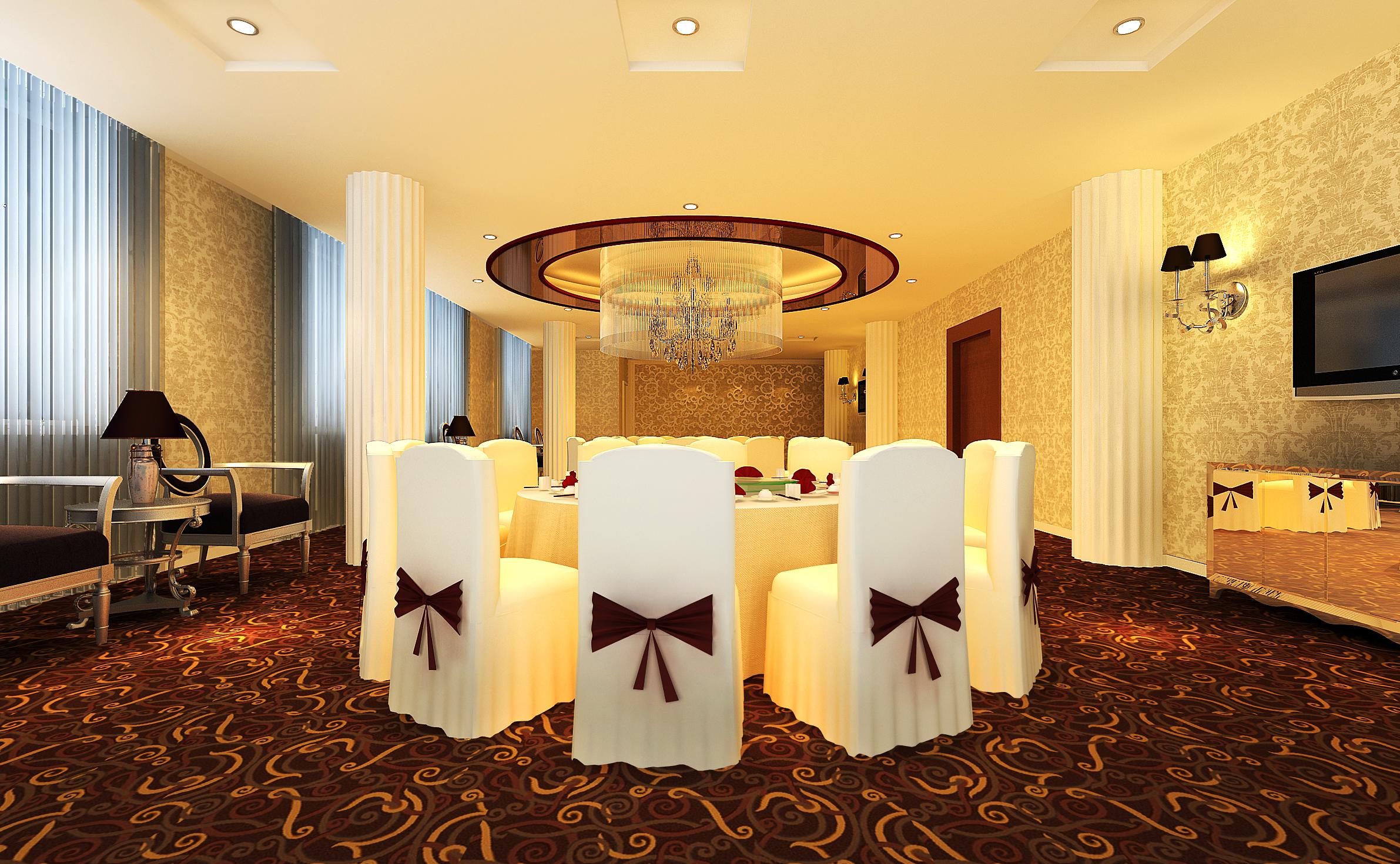 restaurant 117 3d model max 137820