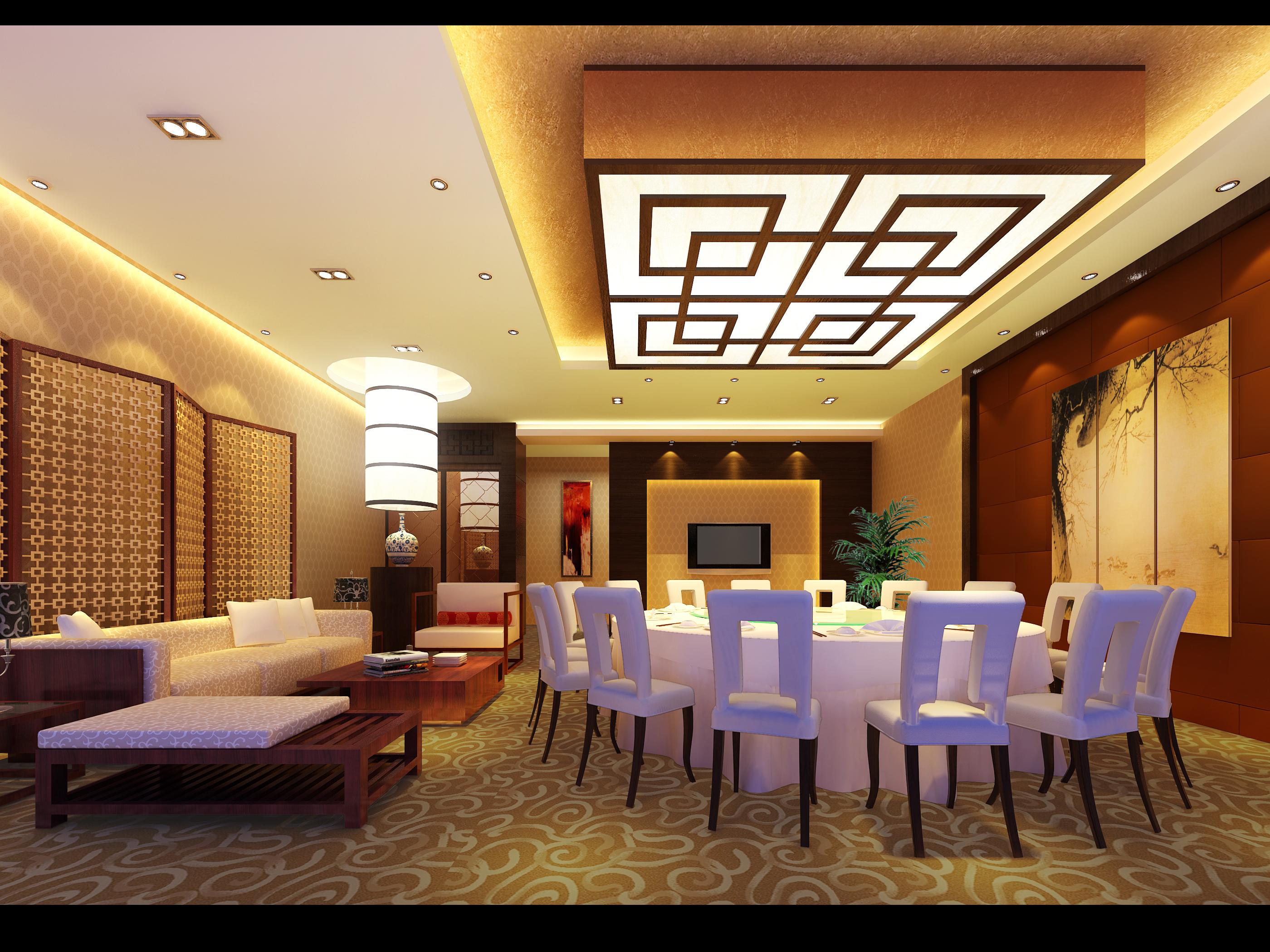 restaurant 146 3d model max 137891