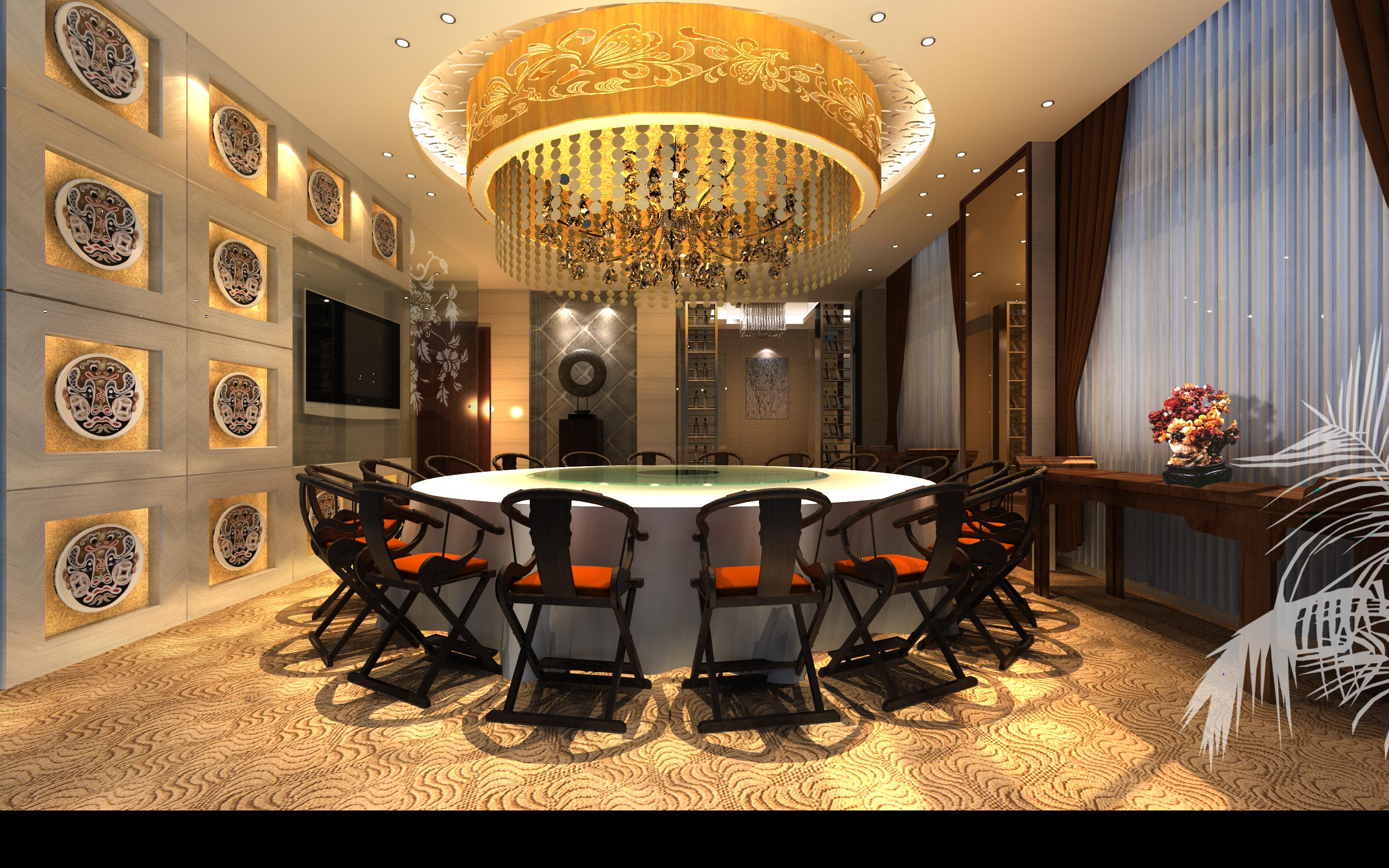 restaurant 147 3d model max 137893