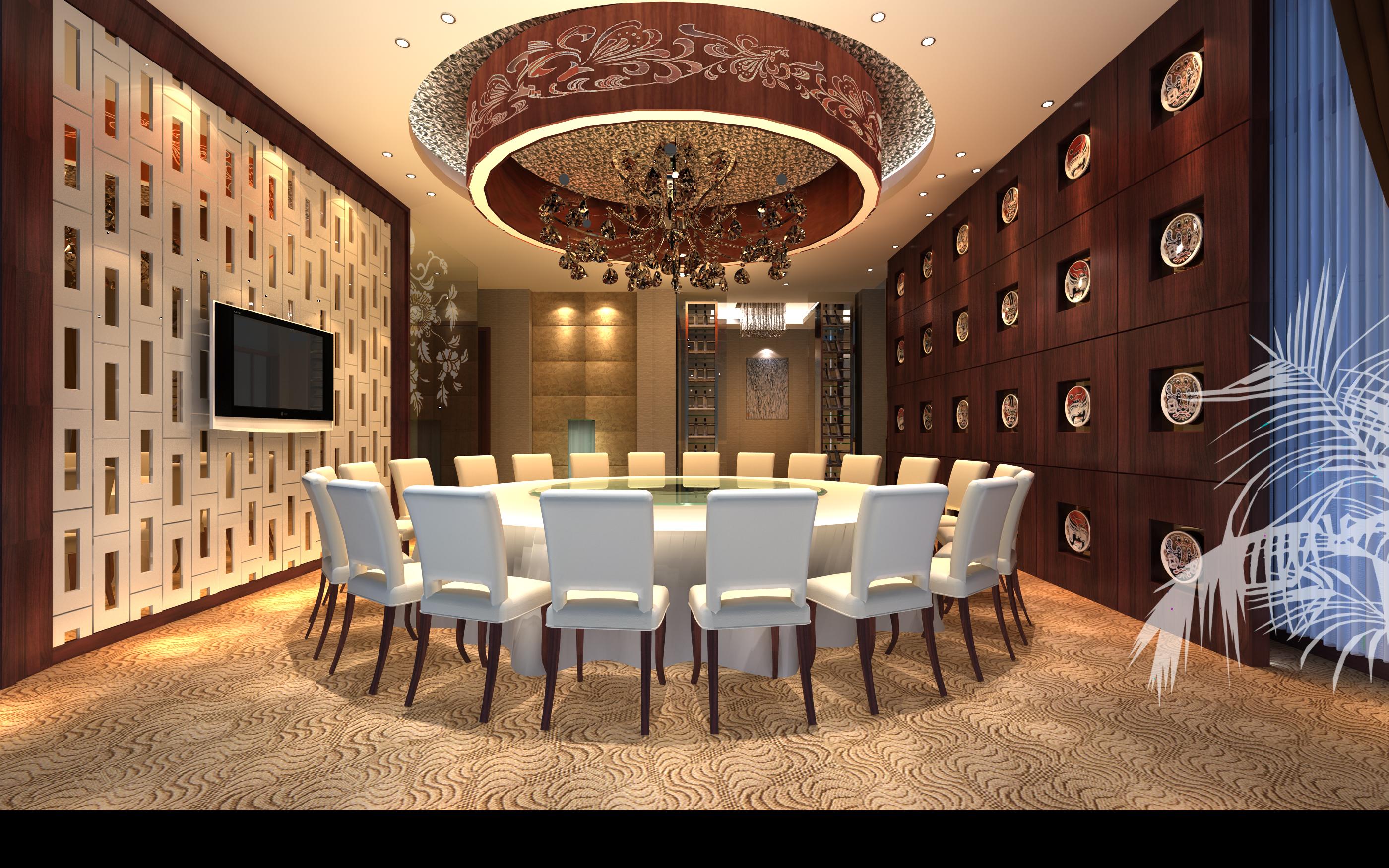 restaurant 149 3d model max 137897