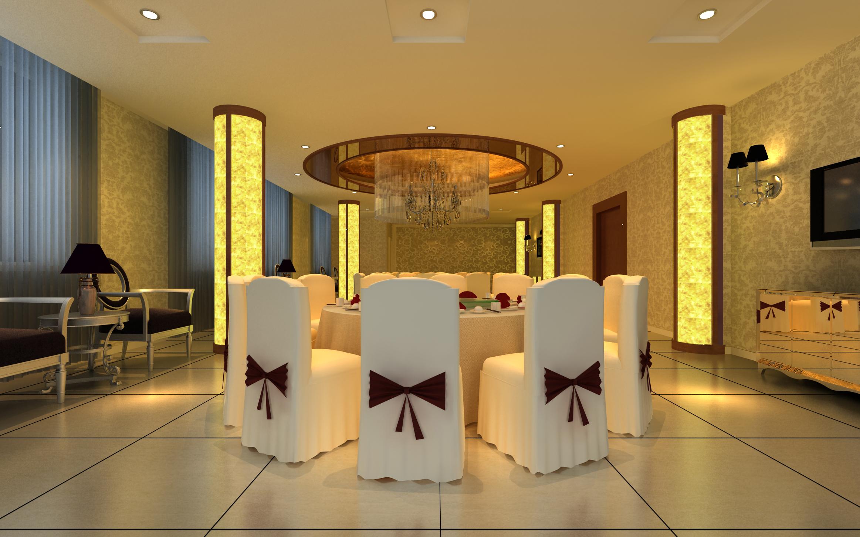 restaurant 153 3d model max 137905