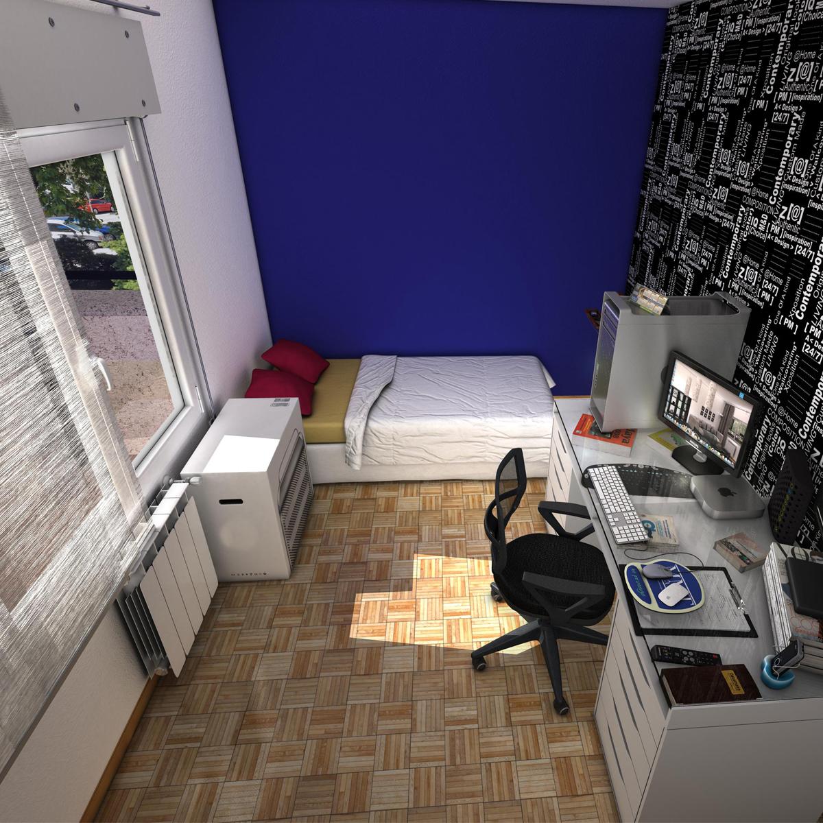 room 3d model 3ds max fbx c4d ma mb obj 159587