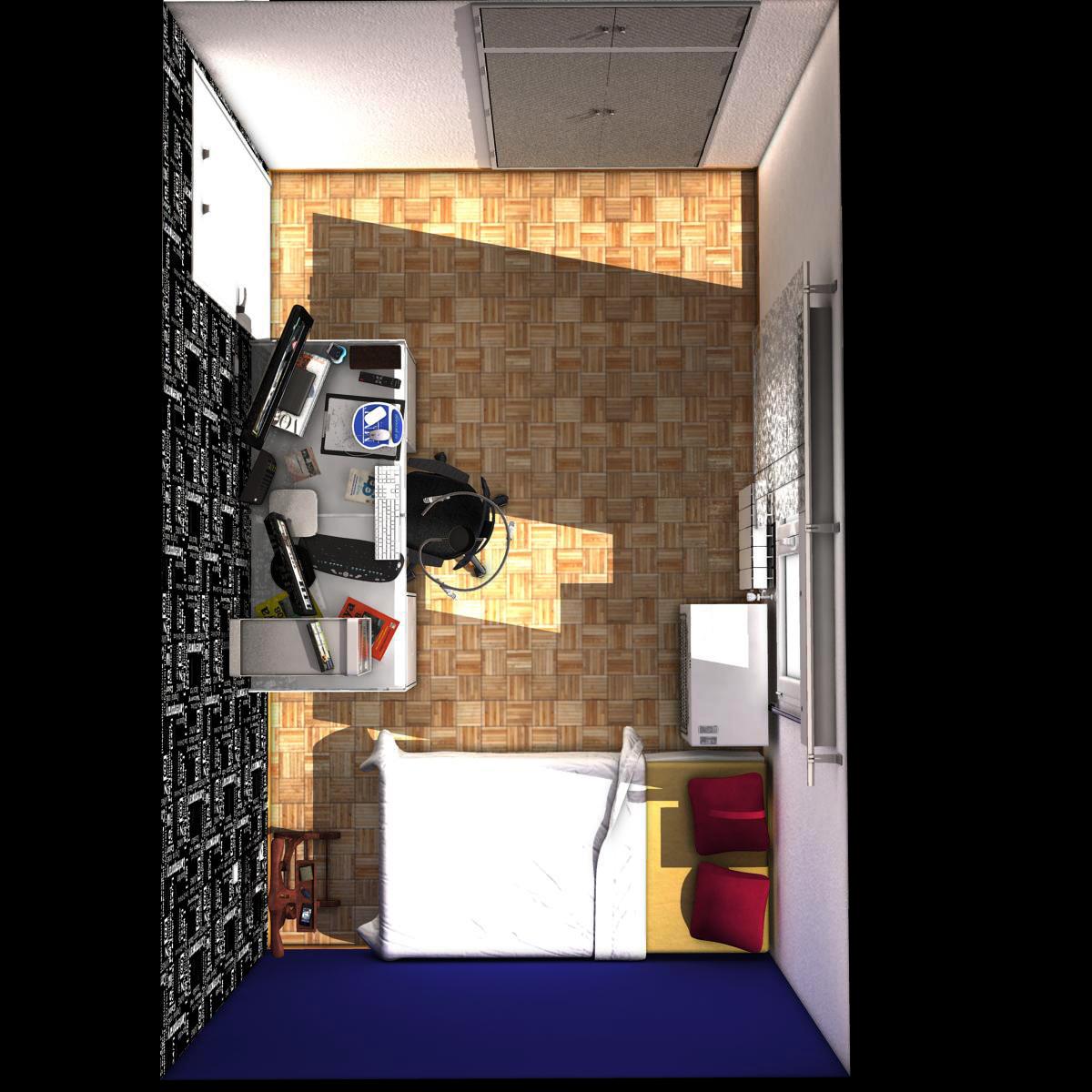 room 3d model 3ds max fbx c4d ma mb obj 159592