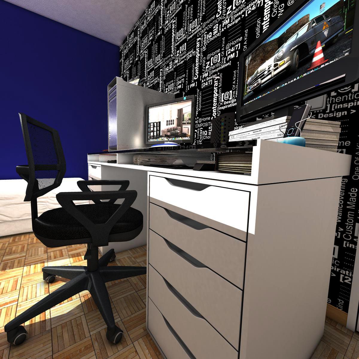room 3d model 3ds max fbx c4d ma mb obj 159593