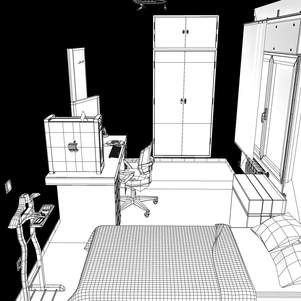 room 3d model 3ds max fbx c4d ma mb obj 159597