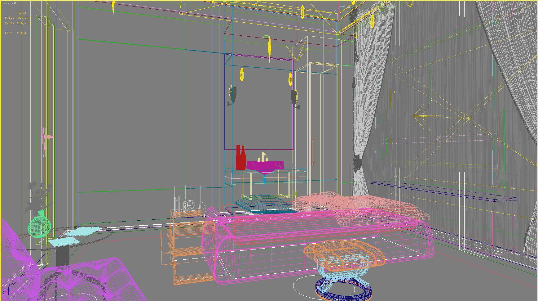spa room 020 3d model max 137958