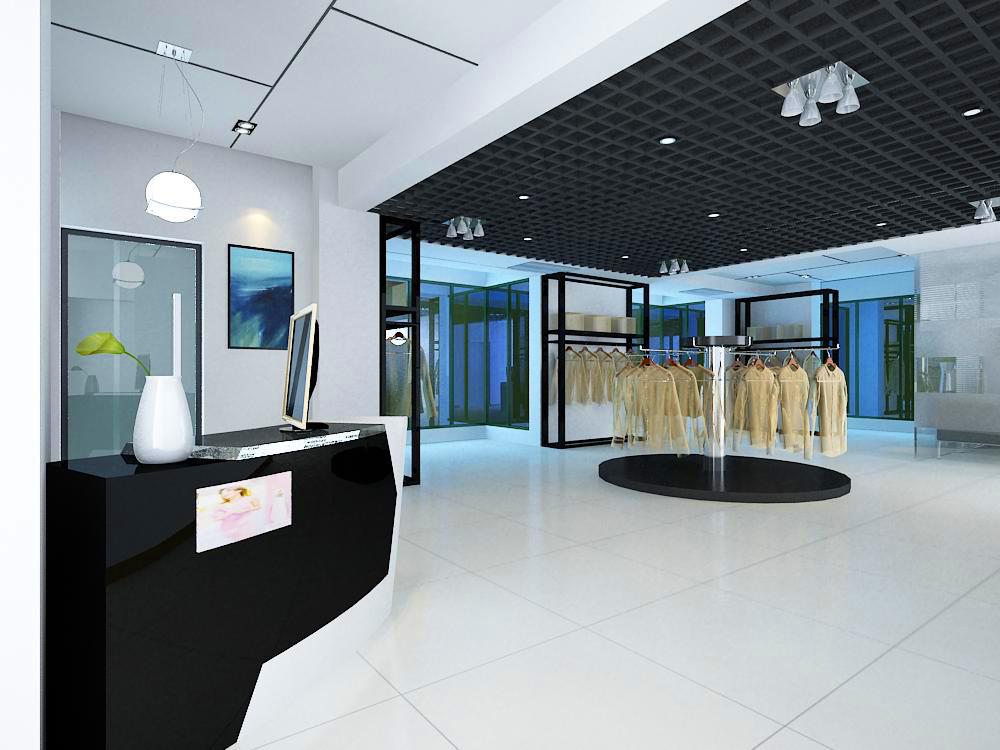 store 002 3d model max 137994
