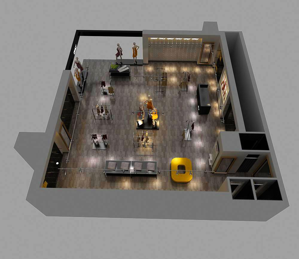 store 004 3d model max 138000