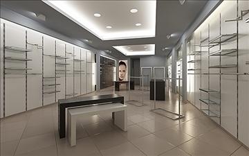 store interior scene render ready 3d model 3ds max dxf dwg fbx c4d lwo skp obj 111934