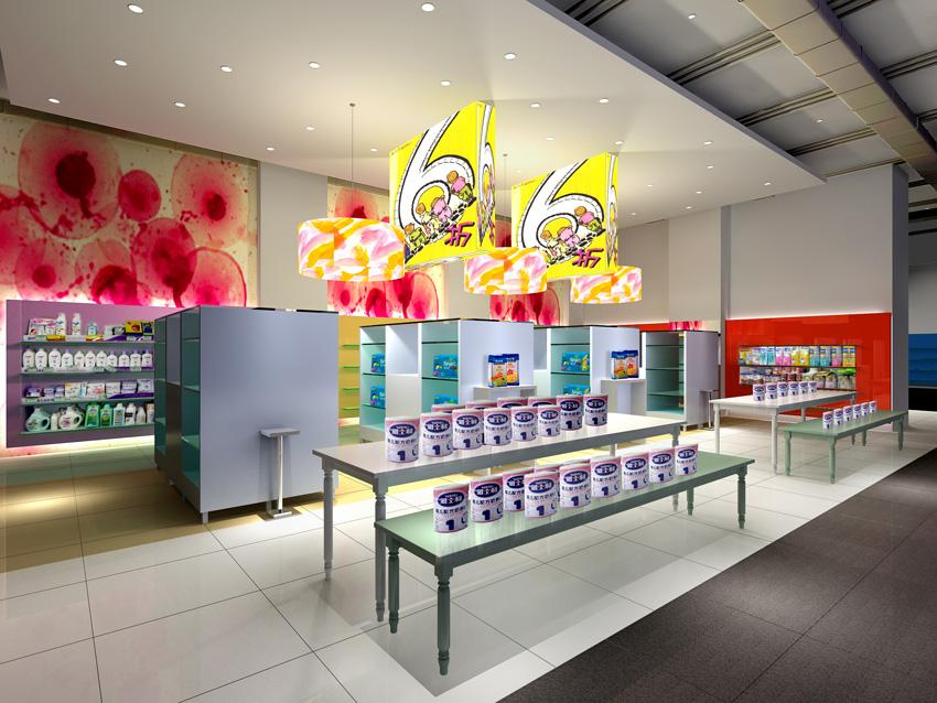 store retail interior 041 3d model max 138097