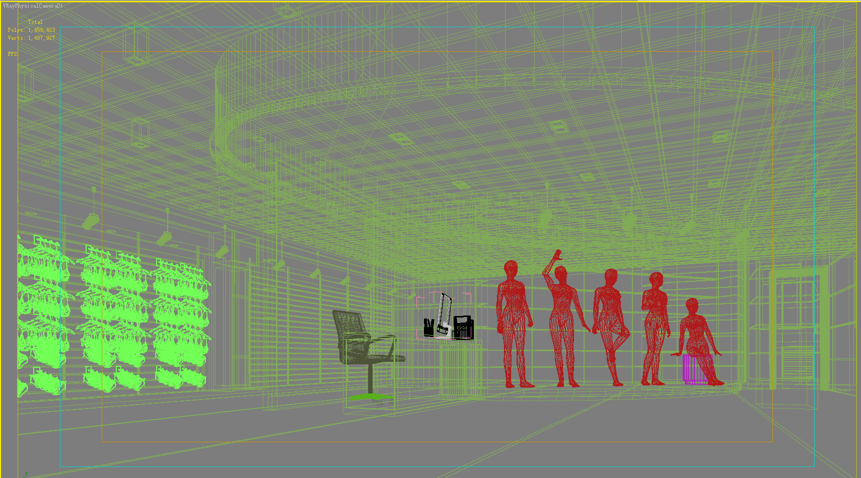 store space 017 3d model max 122266