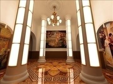 театрын танхим 3d загвар max 82514