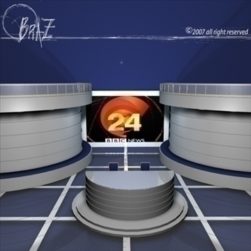 tv set 3d загвар 3ds dxf c4d obj 85172