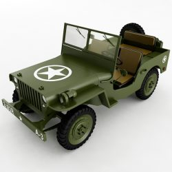 Willys Jeep WWII ( 172.53KB jpg by Plutonius )