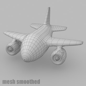 cartoon jet plane 3d model 3ds max 81186