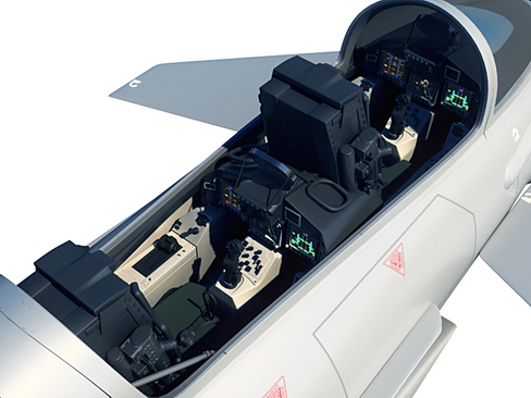 eurofighter typhoon 3d model 3ds max c4d lwo ma mb obj 114469