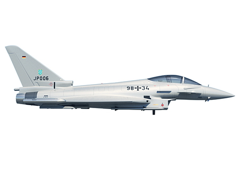eurofighter typhoon 3d modelis 3ds max c4d lwo ma mb obj 114472
