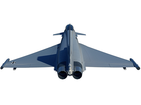 eurofighter typhoon 3d model 3ds max c4d lwo ma mb obj 114474