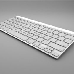 apple wireless keyboard ( 43.67KB jpg by eric_apanowicz )