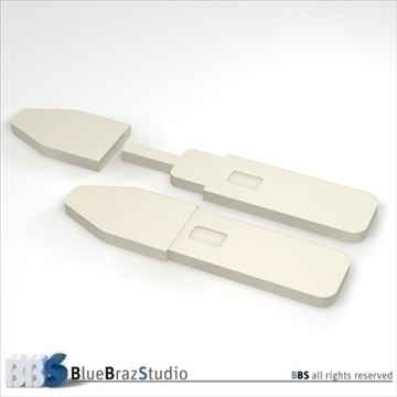 pregnancy test 2 3d model 3ds dxf c4d obj 107622