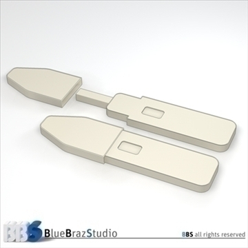 pregnancy test 2 3d model 3ds dxf c4d obj 107623